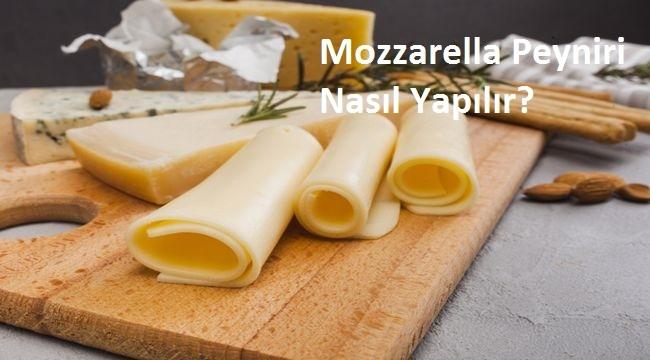 Mozzarella Peyniri Nasıl Yapılır?
