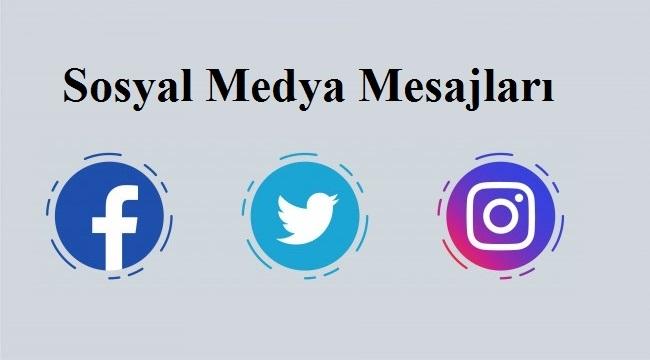 Sosyal Medya Mesajları Resimli